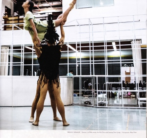 Picture from Hong Kong Ballet programme