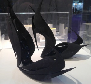 Hadid's Flame Shoes.