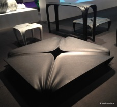Hadid: Square table without 90 degree corners
