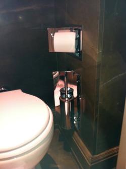 toilet paper brush