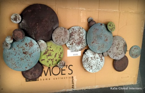 Moe's home collection, Wayfair, damaged goods