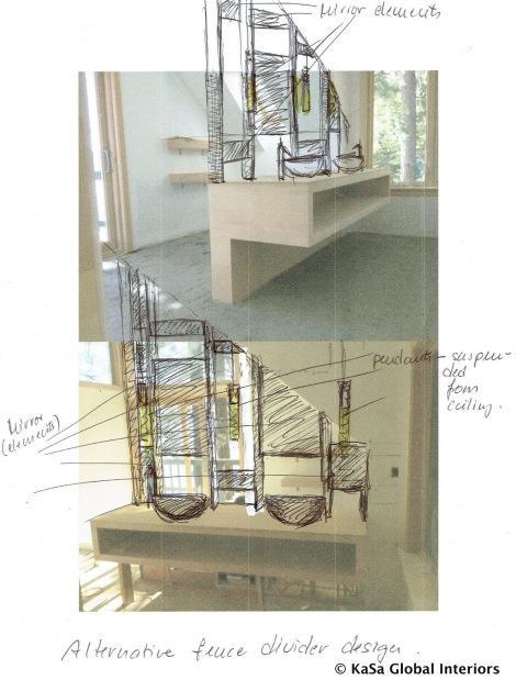 Alternative Fence Divider Design