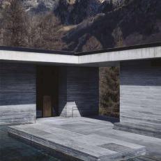 Thermal Bath Vals, Graubünden, Switzerland, 1996