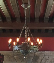 Living room: Chandelier made in Spain (original)