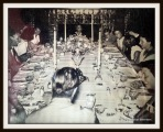 Dining room: historical picture of how it was actually used.