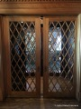 Foyer: Lattice pocket doors