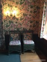 Coordinated wall paper and soft furnishings - almost a bit too much of a good thing?