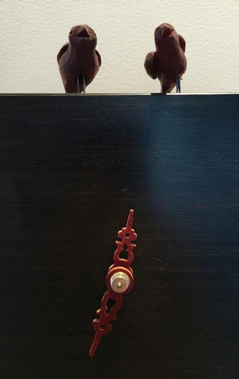 Modern cuckoo clock, close-up