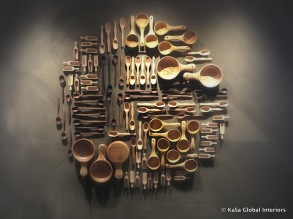 Wooden spoons - wall art