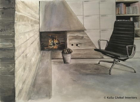Rendering Concrete With Copic Markers Kasa Global Interiors