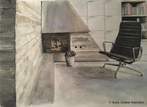 02-Concrete room