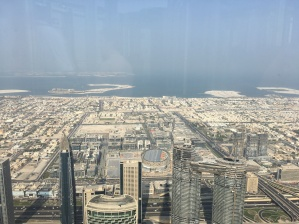 View from the 124th floor (Burj Khalifa)